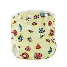Unisex Baby Swimming Diaper Nappy Panties Infant Boy Girl Reusable Swimwear Breathable Bebe Swimwear Nappy Covers Adjustable