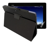 1x Clear Screen Protector Luxury Magnetic Folio Stand Leather Case Protective Cover For Asus MeMo Pad