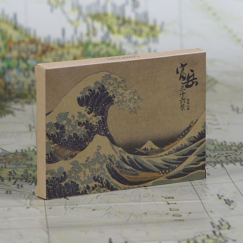 36pcs in one,Postcard,Katsushika Hokusai,Edo age of Japan Ukiyoe,Christmas Postcards Greeting Birthday Message Cards 10.2x14.2cm 30pcs in one postcard take a walk on the go venice italy christmas postcards greeting birthday message cards 10 2x14 2cm