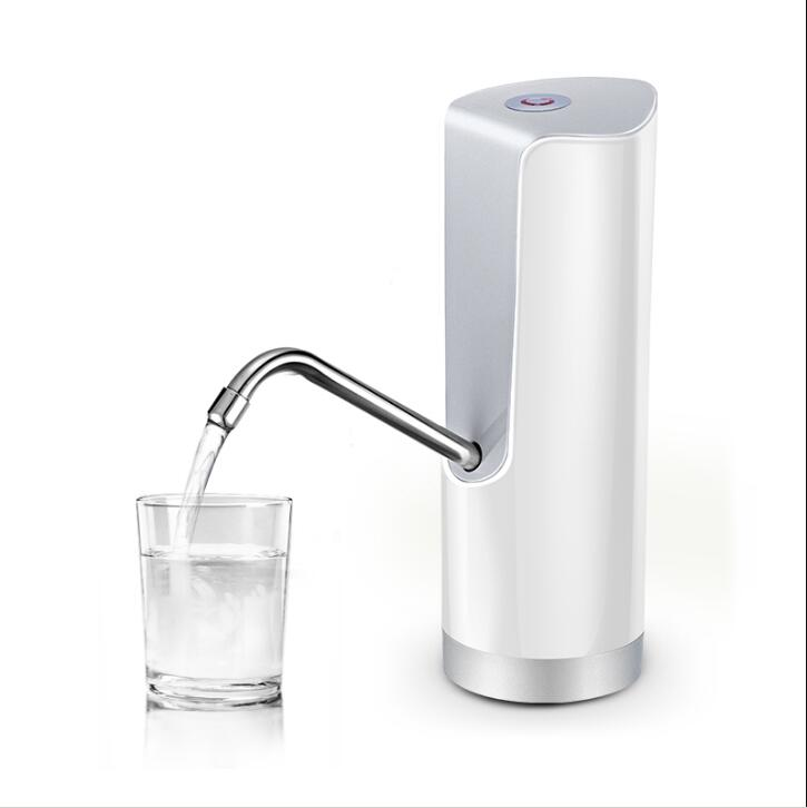 2017 New Easy Pump Water to the Bottle Electric Water Dispenser with Rechargeable Battery Drinking Water Bottles Kitchen Items
