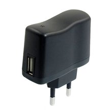 AC 110V 240V to DC 5V 0.5A 500mA USB to EU Plug Power Adapter Charger