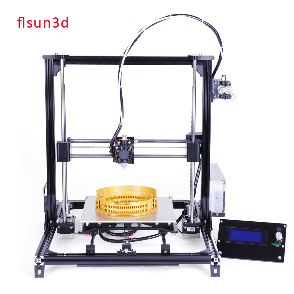 2016 New Metal Prusa i3 3d Printer Kit,DIY 3d Printer With Two Rolls Filament For Free