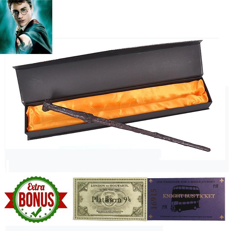 Metal core Harri Potter Magic Wand Original Version Quality Magic Wand of Magical Stick with Gift Box pack of Harri potter цены онлайн