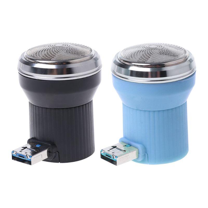 Creative Electric Shaver Mini Portable Plug In Travel Beard Trimmer Razor