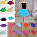 Womens Tulle Tutu Skirt 13 Colors Sexy Mini Petticoat Fluffy 6 Layers Yarn Ballet Dance Skirt For Lady adult tulle skirt