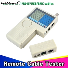 Professional Remote RJ11 RJ45 USB BNC LAN Network Cable Tester for UTP STP LAN Cables Tracker Tracer Detector Top Quality tool