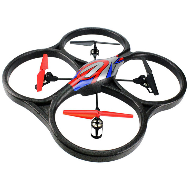 WLtoys V262 6 Axis Gyro 2.4G 6.5CH RC Drone 360 Degree Rollover LED Light Quadcopter With One Press Automatic Reture Helicopter