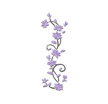 3D flower Wall Stickers for kids rooms decals Living Room Bedroom TV Background Home decor 8