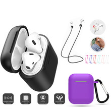 case ear buds cover i10 i12 tws accessories cases Bags key ring luxury cute skin funda for apple airpods air pods 1 2(China)