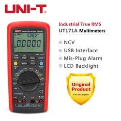UNI-T UT171A UT171B UT171C industriel véritable RMS numérique multimètre AC DC voltmètre ampèremètre ohmmètre capacité testeur de fréquence