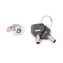 Wysokiej jakości szuflada rurowa złącze camlock dla domu ważne przedmioty Cylinder bezpieczeństwa drzwi skrzynka pocztowa szafka narzędzie z 2 kluczami tanie tanio NONE CN (pochodzenie) QL-SH-BI-205 Cabinet Lock 14 5mm