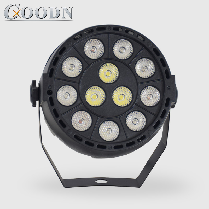China Par Led Effect 12*3w RGBW Flat Par DMX512 DJ Disco Light Party