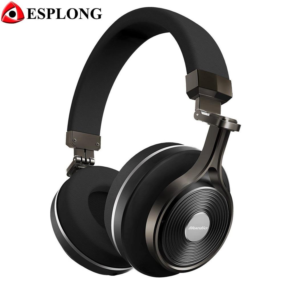 ФОТО Bluedio T3 Plus Wireless Bluetooth Headphone With Microphone BT 4.1 Stereo 3D Music Earphone Support SD Card Handsfree Headset