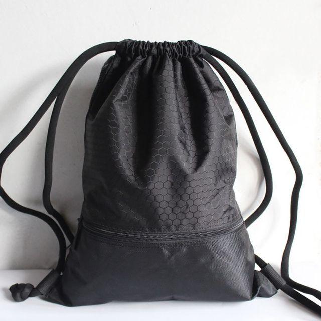 New nylon outdoor uomini delle donne sacchetto impermeabile ultralight zaino calcio calcio basket sports palestra borse zm14