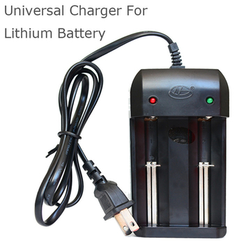 100x High Quality Universal Battery Charger EU US Plug Wire Charger Charging 3.7v Li-Ion 18650 14500 16340 10440 26650 Battery