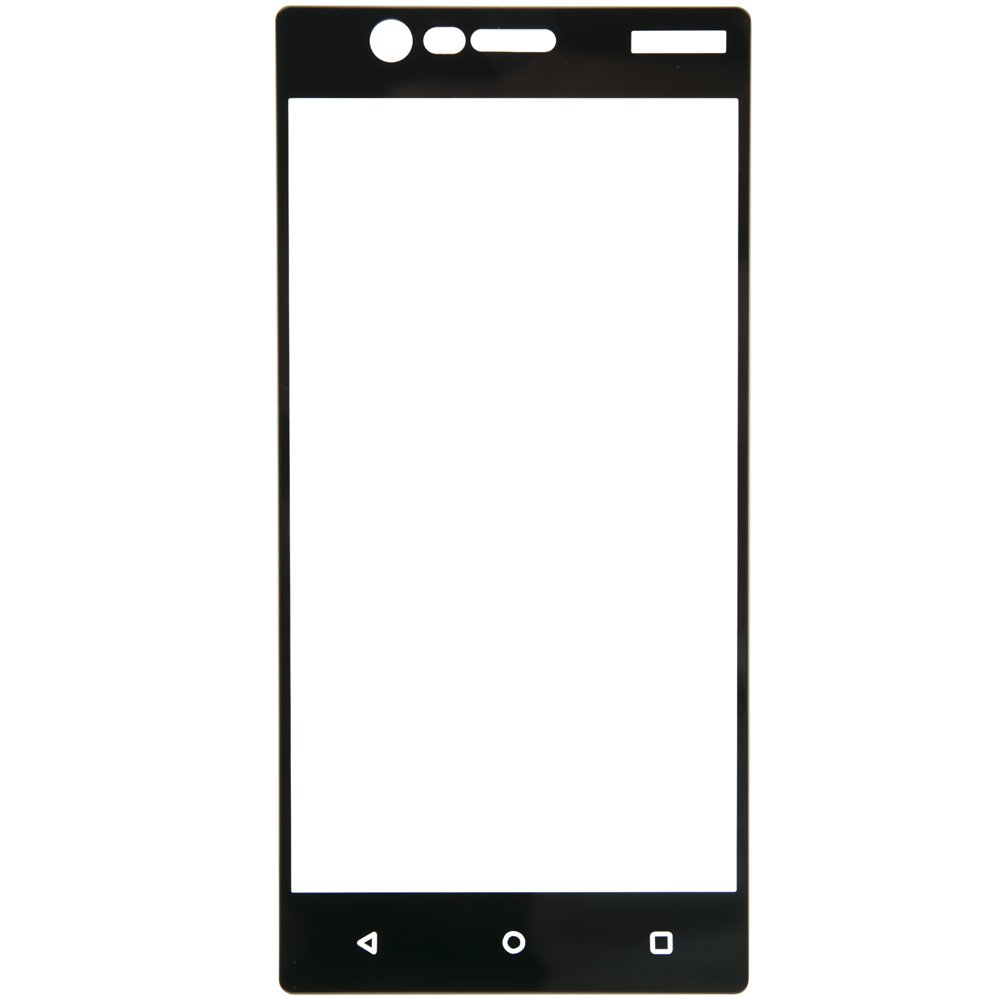 Protective glass Red Line for Nokia 3 Full screen black