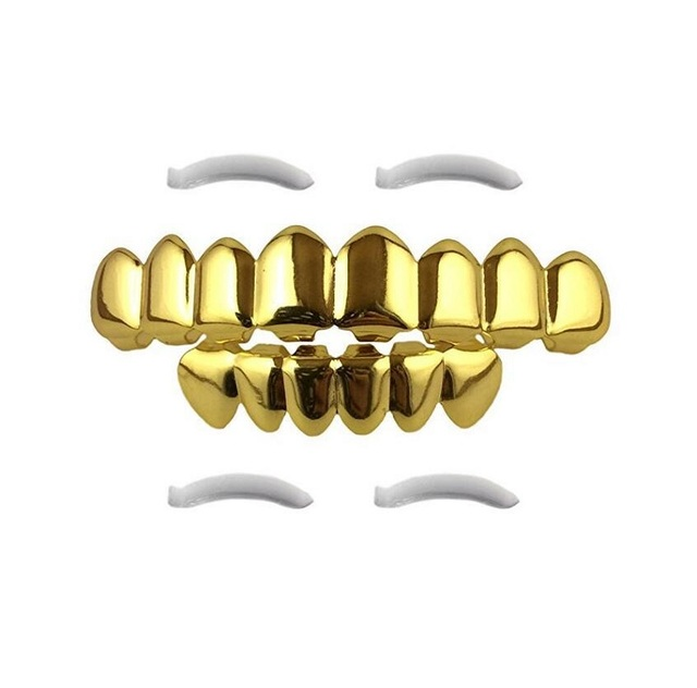 Metal Eight Tooth Grills...