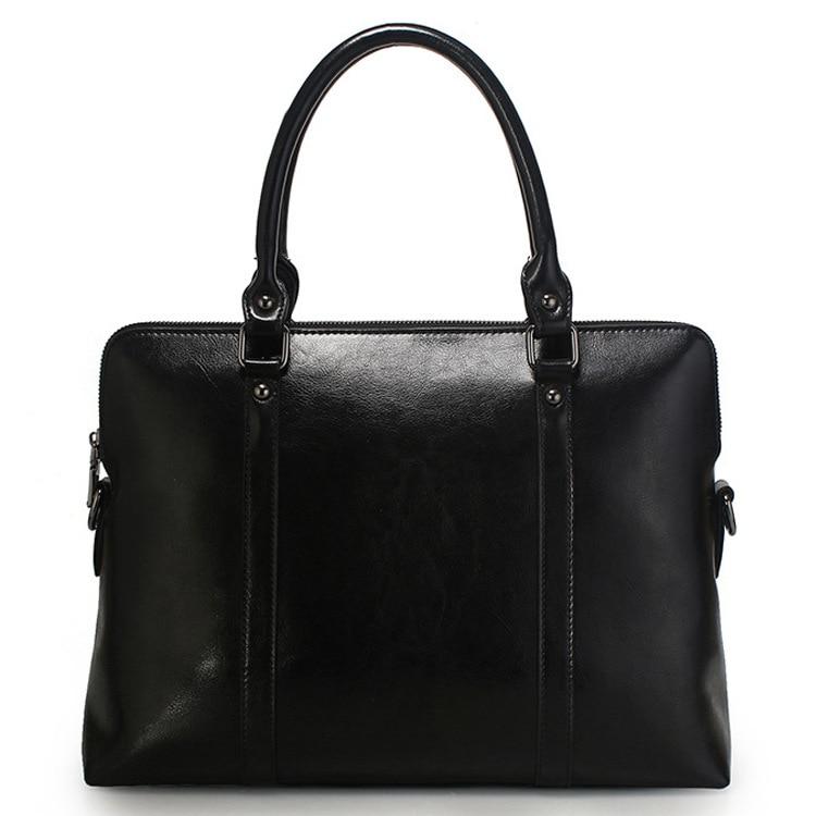 Laptop Tote Bag Computer Bags Women Handbag Purse for Formal Work Female Manager Office Business Realer Leather