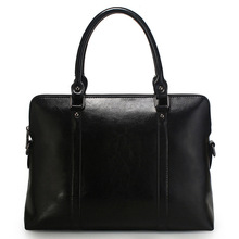 Laptop Tote Bag Computer Bags Women Handbag Purse for Formal Work Female Manager Office Business Realer Leather