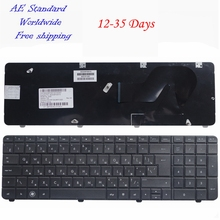 Black  RU 100% New Russian laptop keyboard FOR HP CQ72 G72