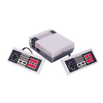 Мини-ТВ Портативный семейный отдых игровая консоль AV порт Ретро встроенный 500/620 классические игры двойной геймпад игровой плеер игровая пр...