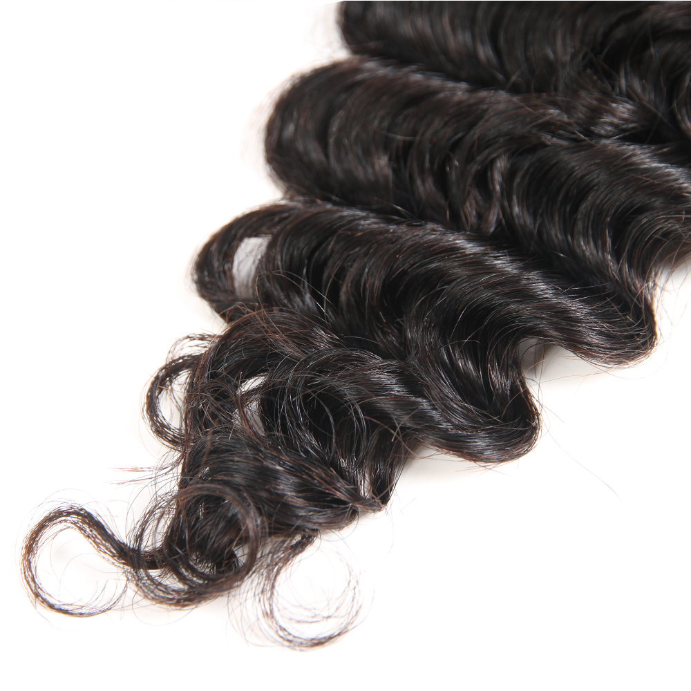 Image 5 - Superfect Hair Lace Closure 4*4 Brazilian Deep Wave Closure 8 24inches Remy Human Hair Closure Free Shipping-in Closures from Hair Extensions & Wigs
