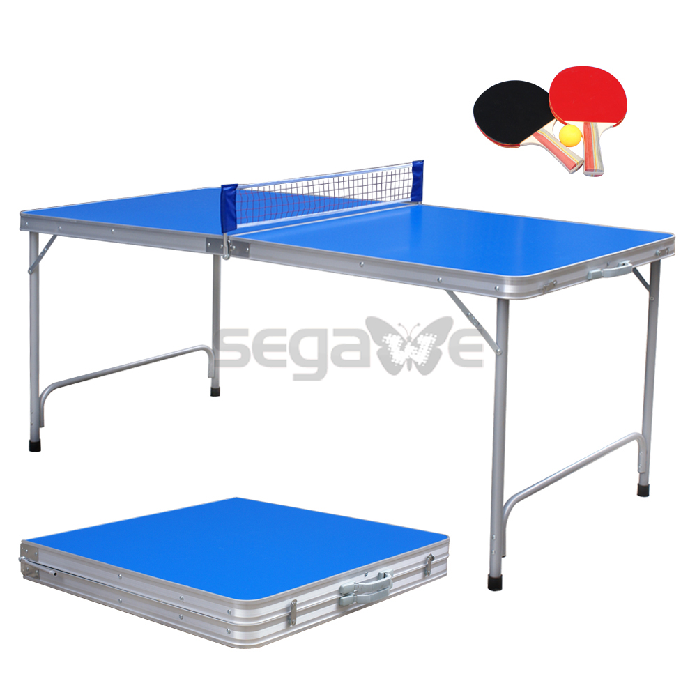Practice Table Tennis Ping Pong Game Table Indoor Folding Midsize 2 Wood  Paddle In Table Tennis Tables From Sports U0026 Entertainment On Aliexpress.com  ...