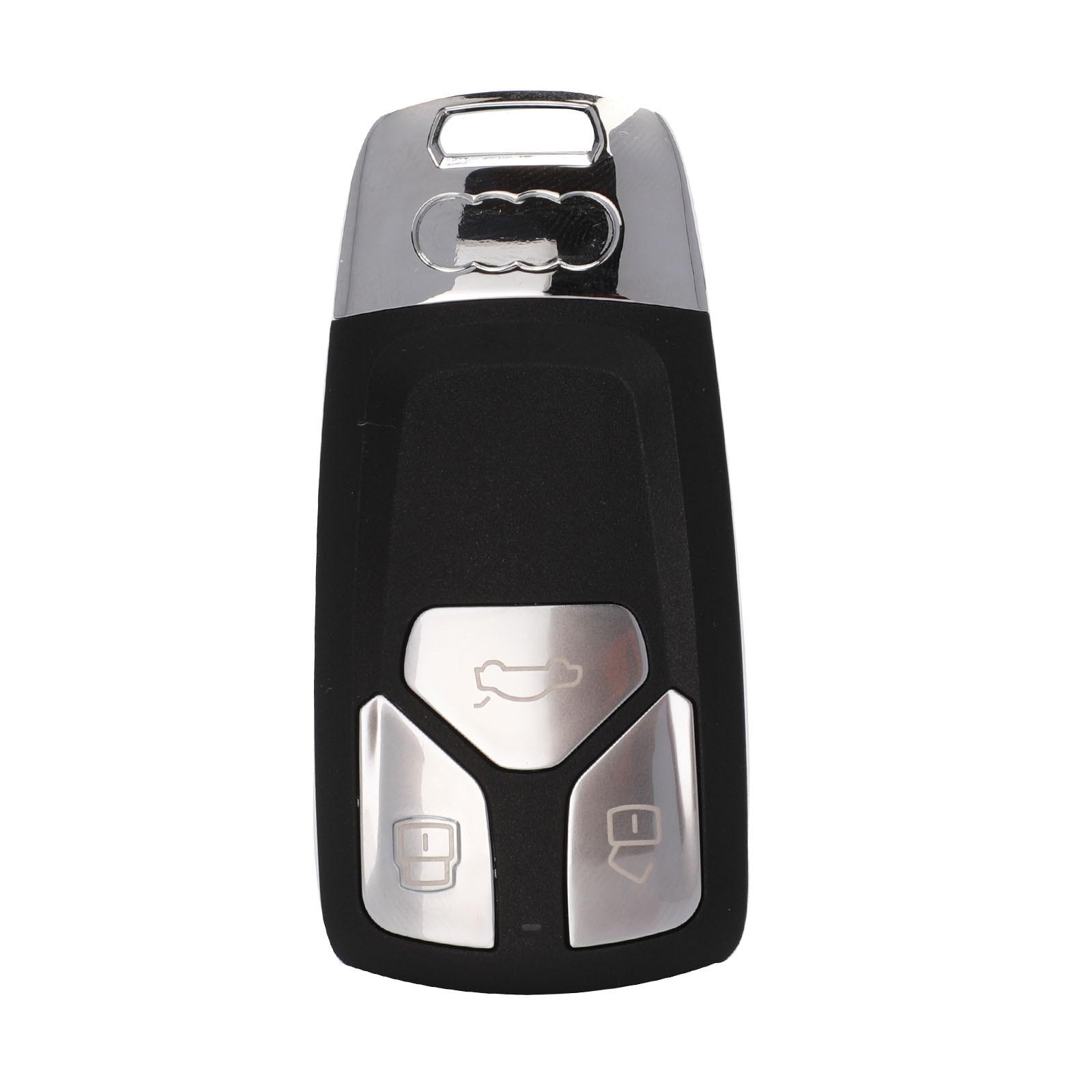 Jingyuqin Upgrade Remote Car Key Shell For Audi A3 A4 A4L A5 A6 A8 Quattro Q5 Q7 S5 SQ7 2017 UP TT 2016 3 Buttons Smart Key FOB