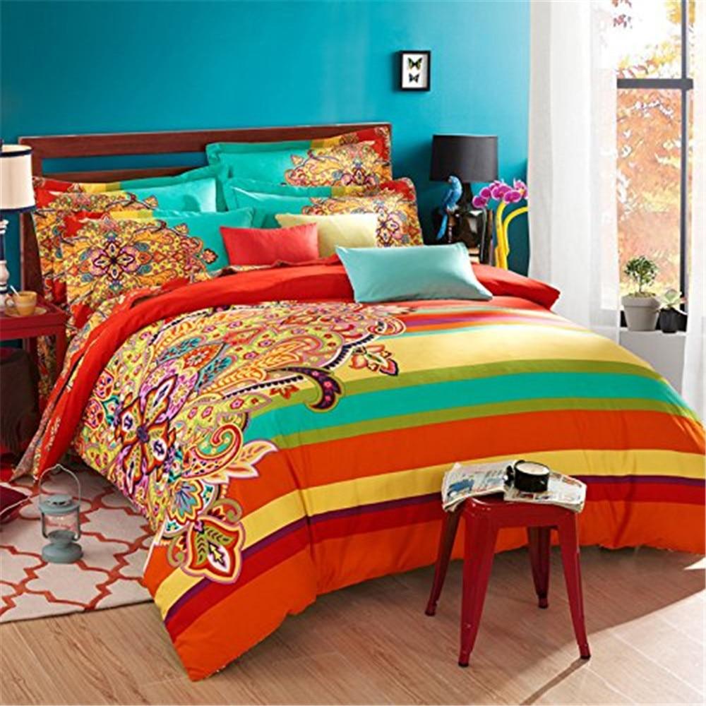 FADFAY Home Textile Boho Style Bedding Set Boho Duvet ...