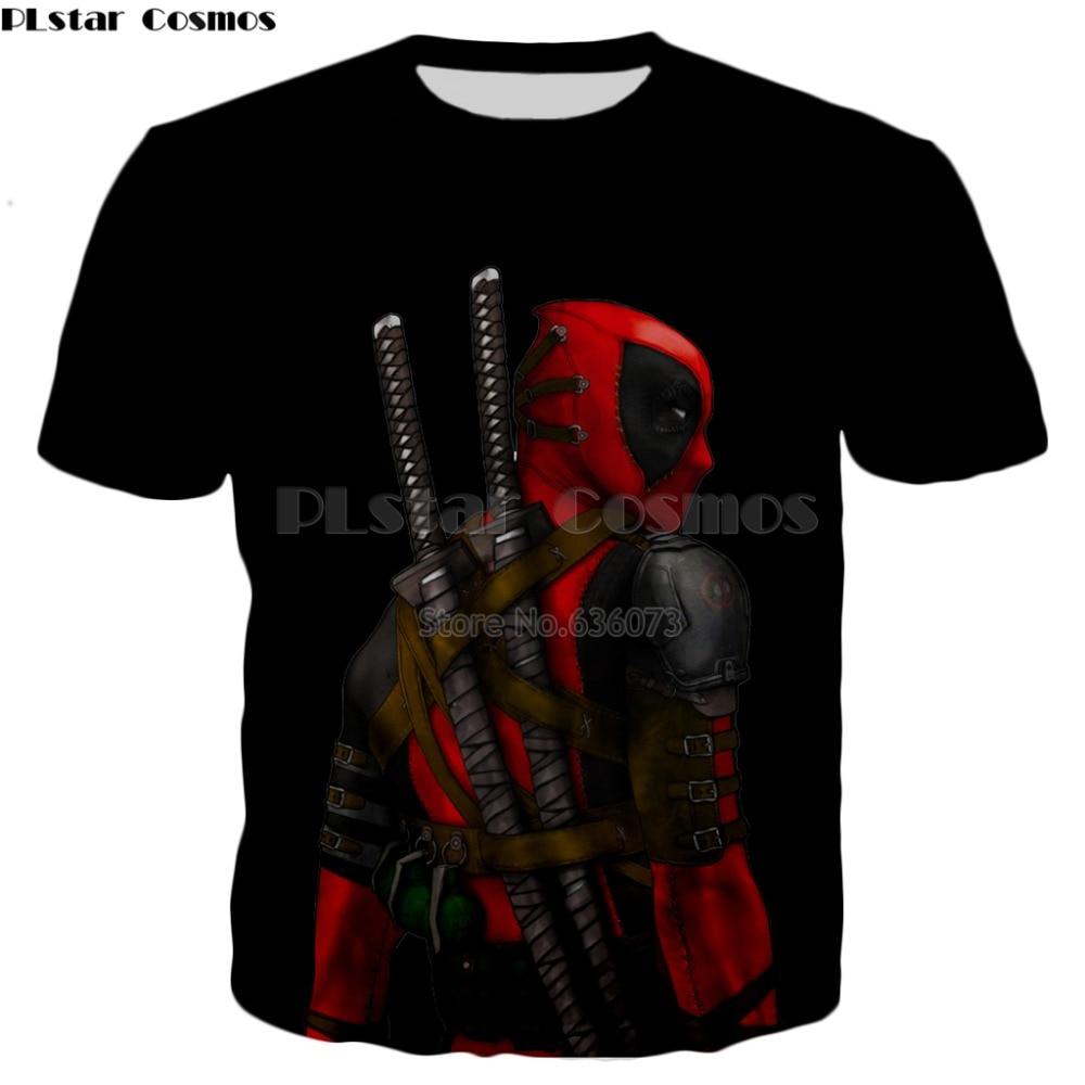 Schmuck & Zubehör Lustige T Shirts Deadpool T Hemd Männer Badass T-shirts Casual Hulk Hemd Druck Krieg T-shirts 3d Lustige Anime Kleidung Herren Kleidung