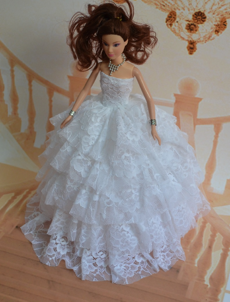 Old Fashioned Barbie Wedding Gown Image Collection - All Wedding ...