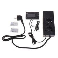 TC-220 0-50c dia/noite fora termostato réptil digital com regulador de temporizador amphibian animal controlador de temperatura