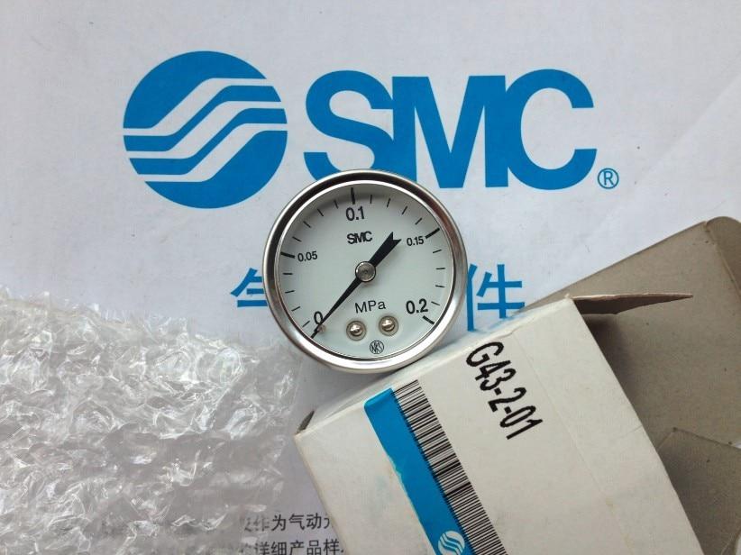 BRAND NEW JAPAN SMC GENUINE GAUGE G43-2-01 brand new japan smc genuine pressure switch pse561 01