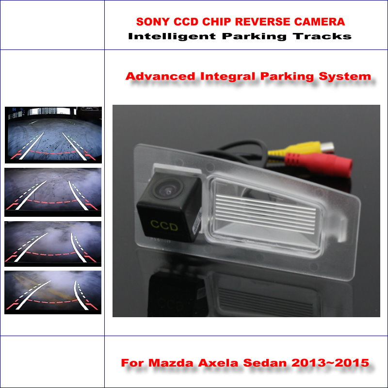 ФОТО Dynamic Guidance Camera For Mazda Axela Sedan / Mazda CX-3 CX 3 CX3 / 580 TV Lines HD 860 Pixels Parking Intelligentized