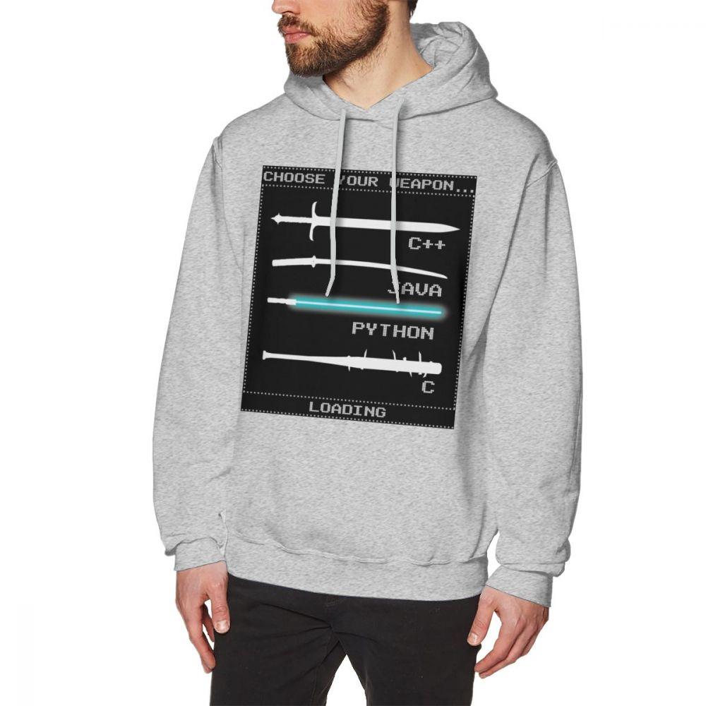 Image 4 - Programmer Hoodie Programmer Hoodies White Mens Pullover Hoodie XXXL Cotton Popular Long Warm Streetwear Hoodies-in Hoodies & Sweatshirts from Men's Clothing