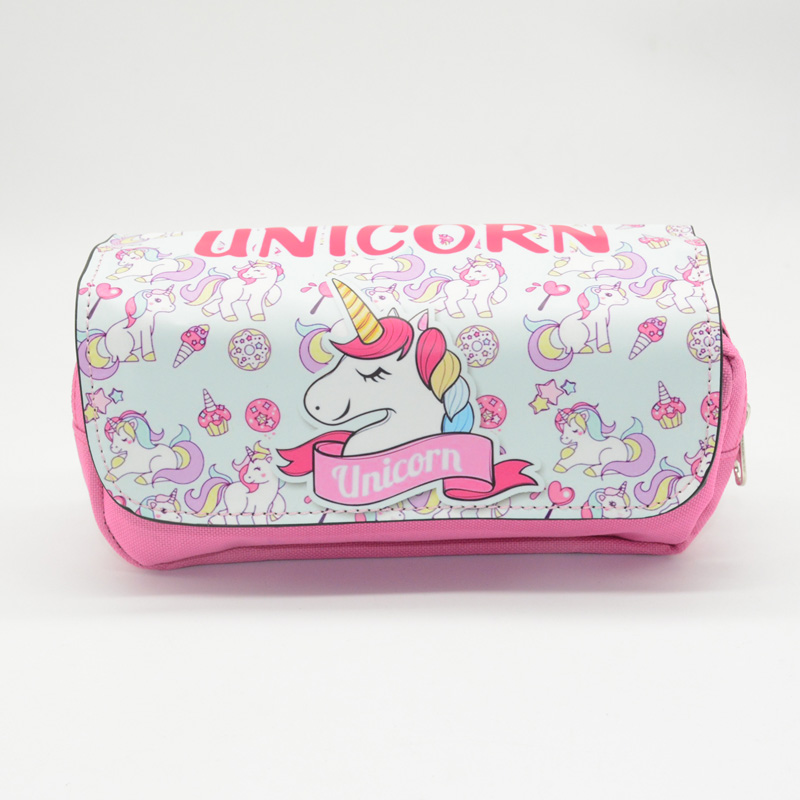 unicorn pencil case Kawai kalem kutusu estojo escola Cute animal estuche escolar pen case pencil box stationery все цены