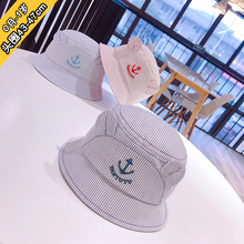0 to 1 years old  han edition of anchor baby infant fisherman hat sailor basin flat shading childrens cap XA 262