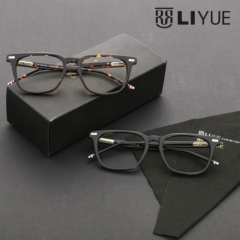 prescription eyewear optical frames men designer 2016 vintage clear ...