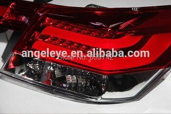 Para 2008-2012 Año Accord LED Tira Trasera Color Rojo Blanco V2