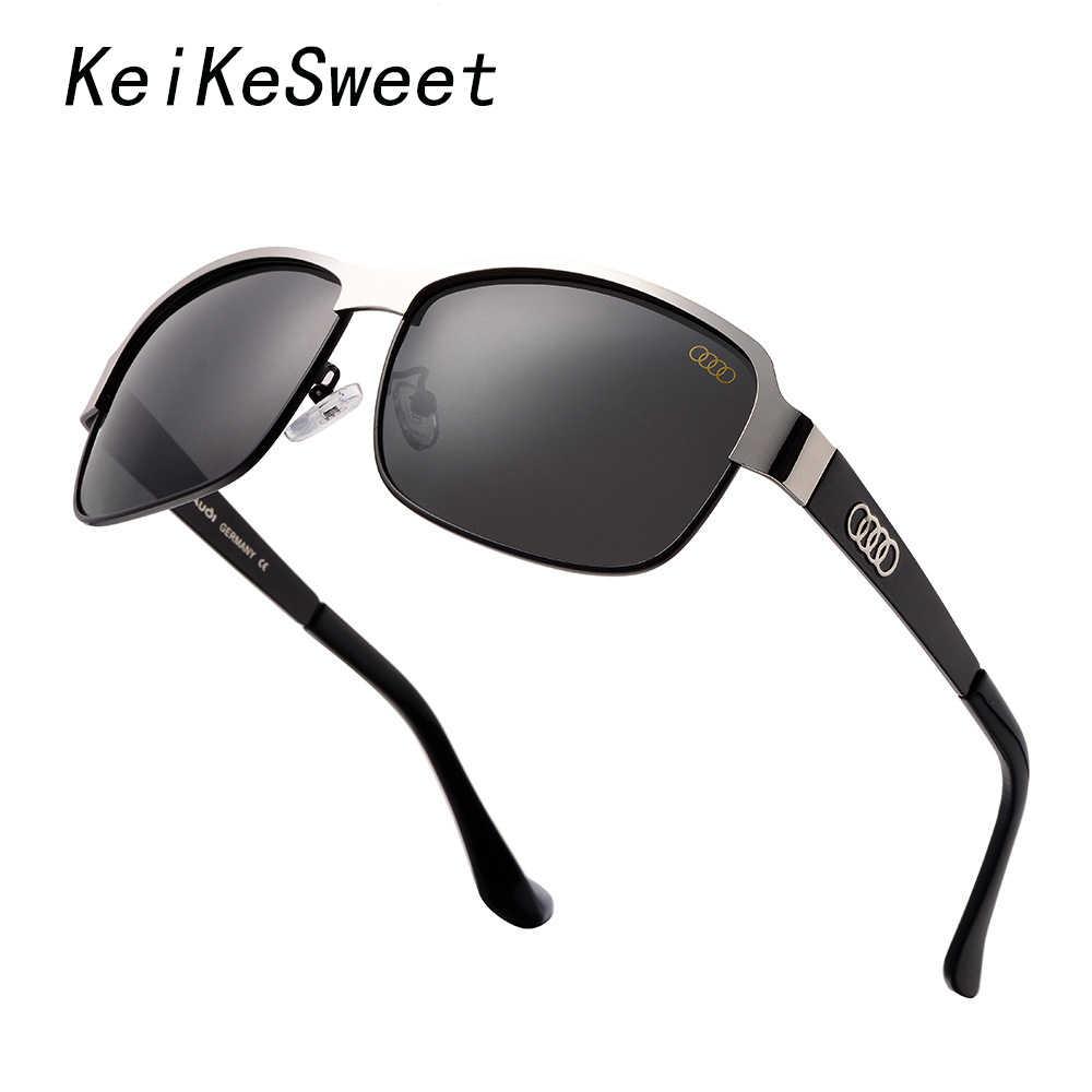 89ae394da1 KeiKeSweet 2019 polarizadas al aire libre de lujo de marca de diseñador de  Sol de conducción