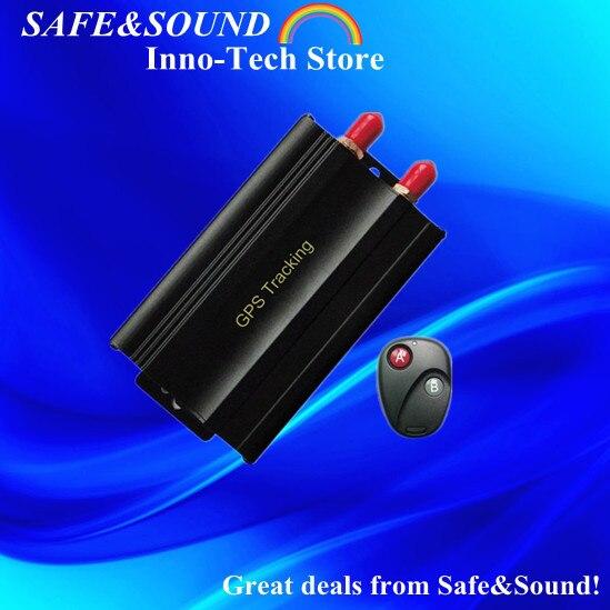 Car GPS Tracker Remote Control Cut off Fuel SD Card Quad band Car Alarm GSM SMS