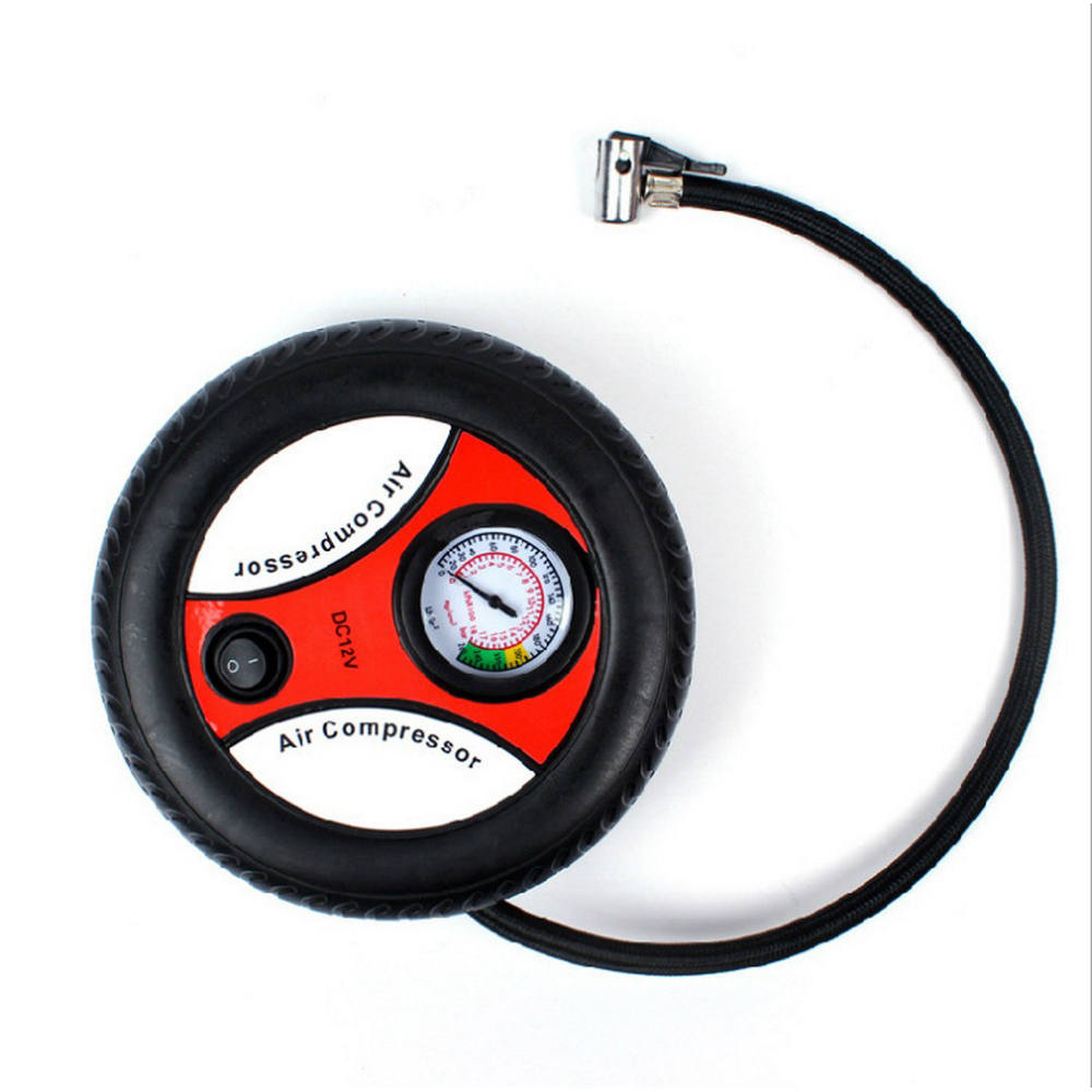 Image 2 - Mini BY 266 Tire Inflator Air Compressor Dropship Car Air Pump DC 12V Pump Portable Electric Auto Replacement Parts-in Inflatable Pump from Automobiles & Motorcycles