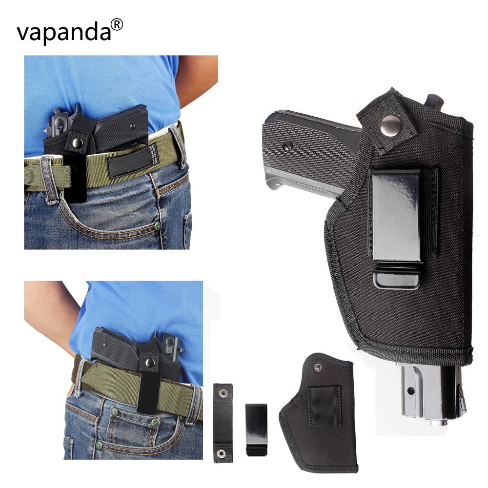 Vapanda Nylon Glock Holster Tactical Small Pistol Holster IWB Left Right Hand Interchangeable Glock Holsters 17 19 22 23 32 35