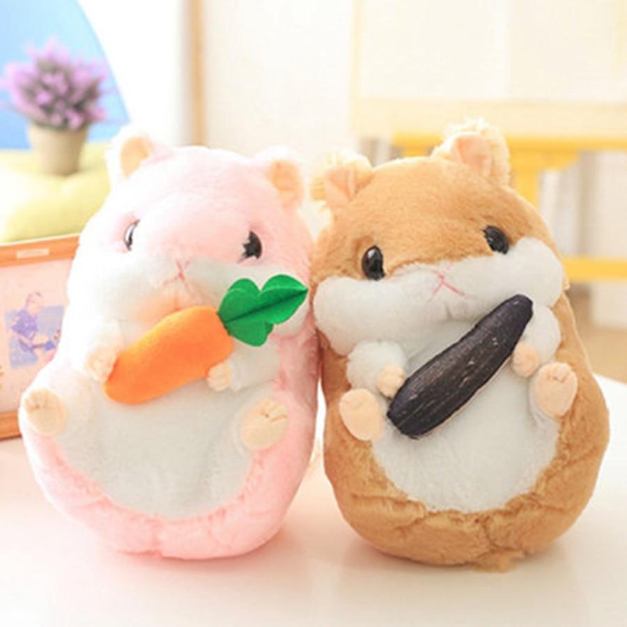 Cute Mouse Stuffed Dolls Plush For Baby Girls Gifts Birthday Cartoon Wedding Stuff Cute Stuffed Hamster Plush Doll Soft 70C0138