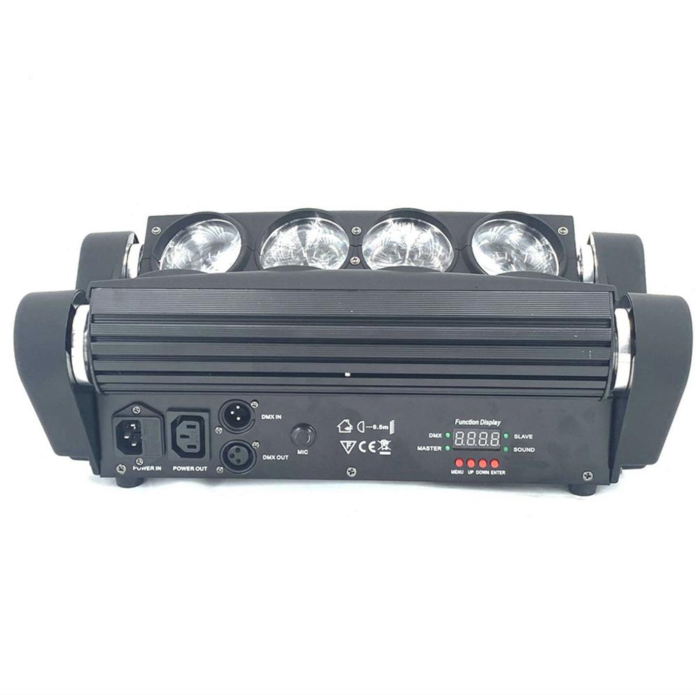 Mini Moving Head Led Spider Light 8x10W / 8x15W 4in1 RGBW Led Party Light Disco Lights Beam Dj Disco Lights Wash