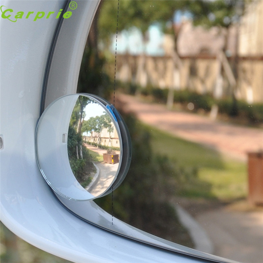 Dependable Fashion Two 2 Inch Stick on Rearview Blind Spot Convex Mirrors Thin Ap6 dropshipping