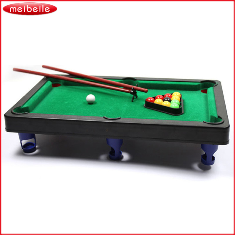 Delightful Sports Game Mini Pool Billiards Table Game Baby Toy Kids Table Board Games  Ball Gift Free