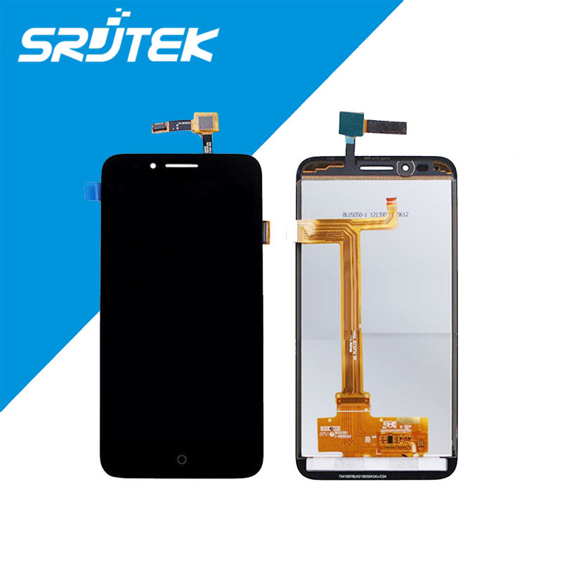 ФОТО Black/White For Alcatel One Touch Go Play LTE 7048X 7048 LCD Display + Touch Screen Digitizer Assembly Replacement