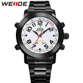 Mens Watches WEIDE Brand Luxury Quartz-Watch Waterproof Analog Digital Display Men Military Sports Wristwatch Relogio Masculino