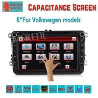 8inch 2 Din Car DVD For Volkswagen VW Golf 4 Golf 5 6 Touran Passat B6